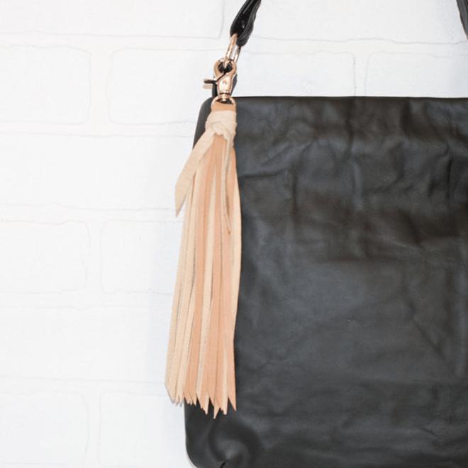 Gorgeous Bridesmaids Leather Tassel Key Chain