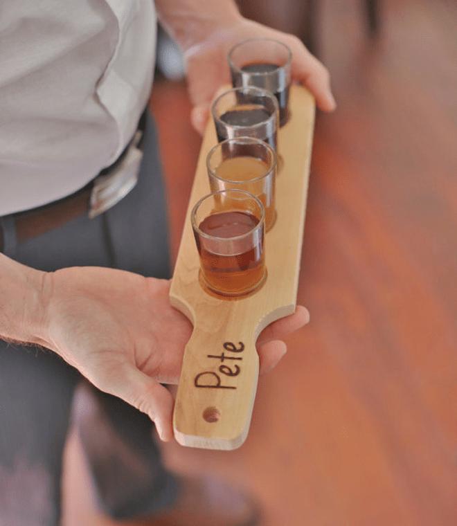 Awesome Shot Glass Paddle