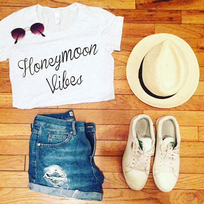 Honeymoon vibes shirt by The Daily Tay