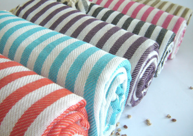 Turkish Beach Towel or Wrap by The Anatolian