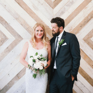 We're in LOVE with this stunning urban wedding!
