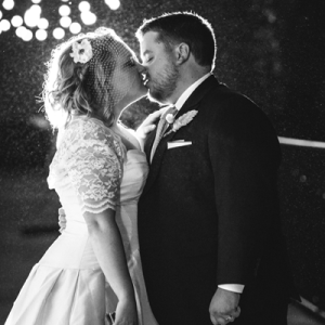 We're loving this romantic industrial style wedding!