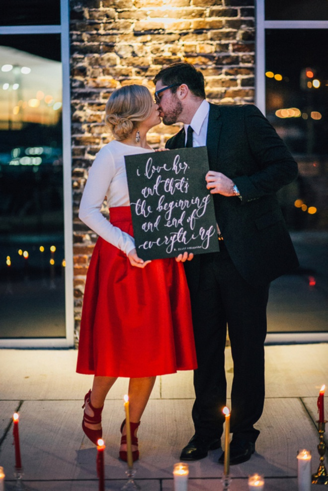 We're crushing on this darling Valentines Day inspired shoot!