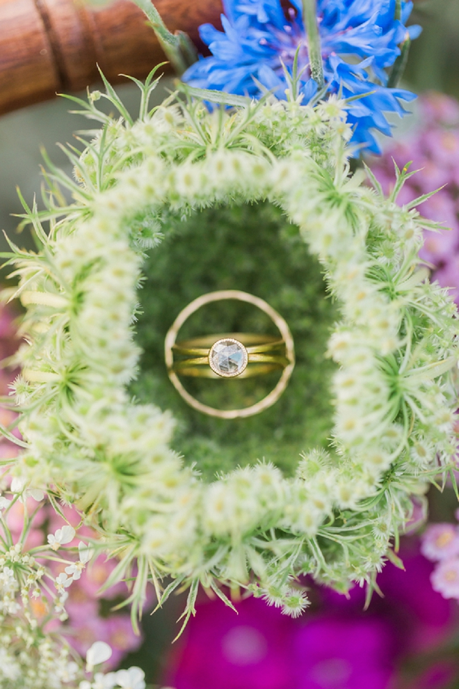 We're swooning over this stunning ring shot!