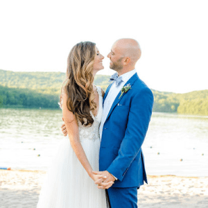 Obsessed with darling couple + their gorgeous day!