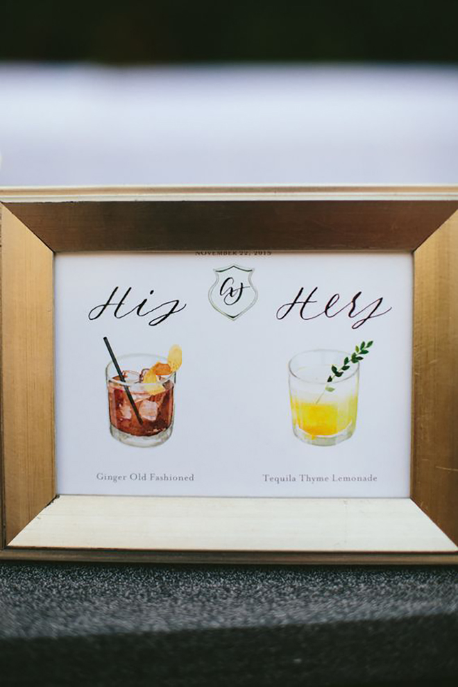 Personalize your cocktail and add a your stamp.