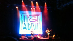 First Aid Kit Opera House
