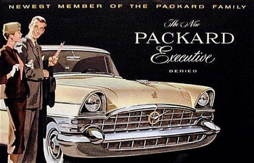 Packard advertisement circa 1956