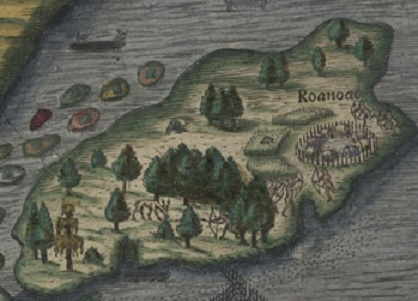 Roanoke the lost colony sometimes interesting