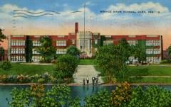Horace-Mann-School-1940-postcard