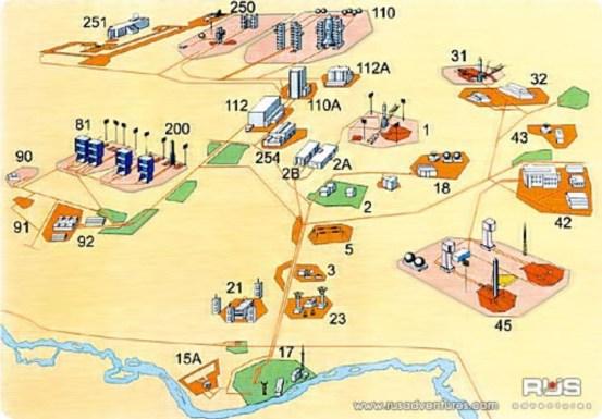 Map & Legend courtesy Rusadventures