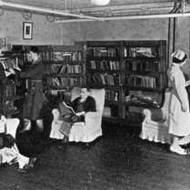 Pressmens-Home-Sanatorium-Library
