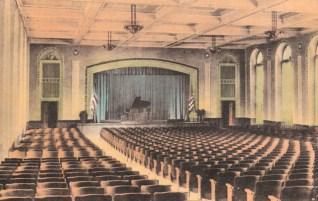 Auditorium, 1939
