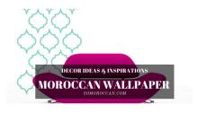 MOROCCAN WALLPAPER