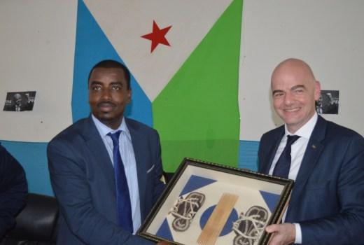 Image result for Le president de la fédération djiboutienne de football