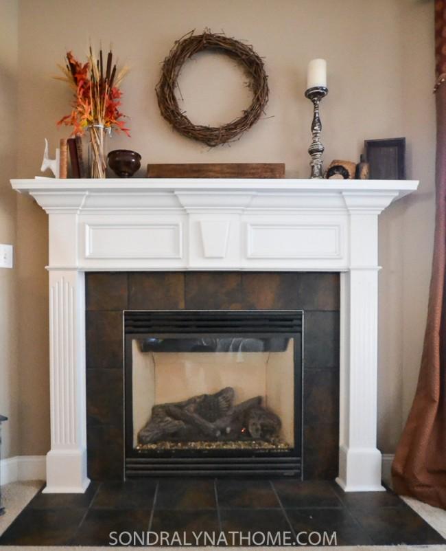 Easy Peel And Stick Stone Fireplace Surround Sondra Lyn