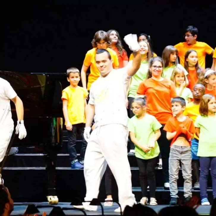 2017'VII'4. Teatro Real de Madrid. Estreno de Somos Naturaleza - saludos 3