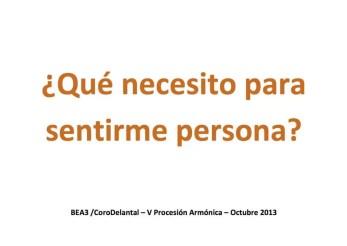 2013'X. Braojos. V Procesión armónica - pegatina PERSONA