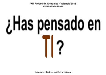 2015'X'31. Valencia. VIII Procesión armónica - pegatina TI