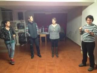 2016'III'23-27. Mira (Cuenca). Música dispersa - taller de experimentación vocal