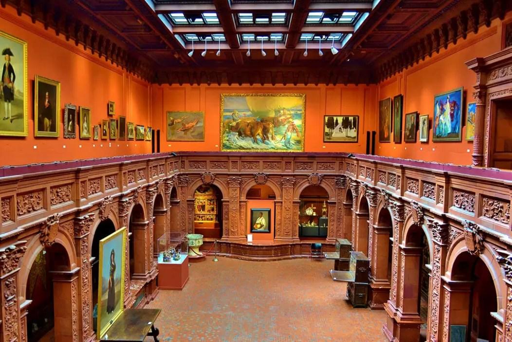 2016'III'31. Nueva York. 'Pequeña suite peninsular' en la Hispanic Society - espacio