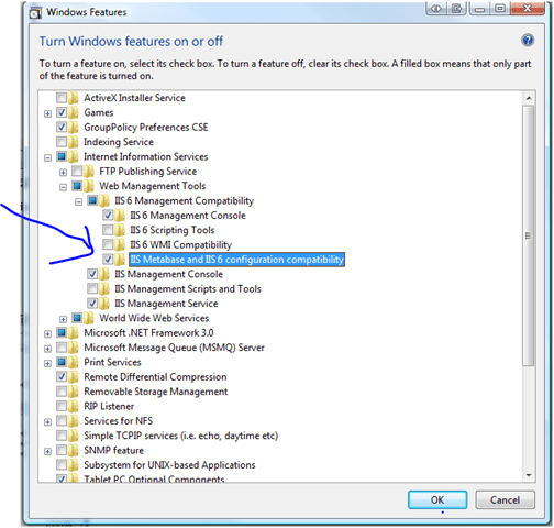  stuck with configuring IIS-7 express in visual studio (3/3)