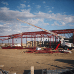 Warehouse Steel Erection