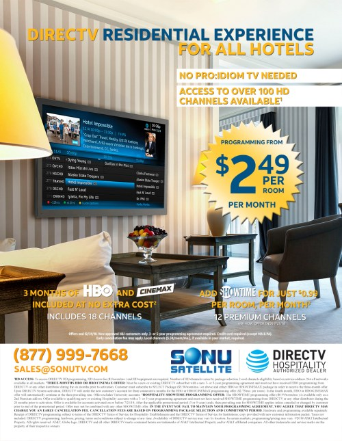 Medium Of Directv For Business
