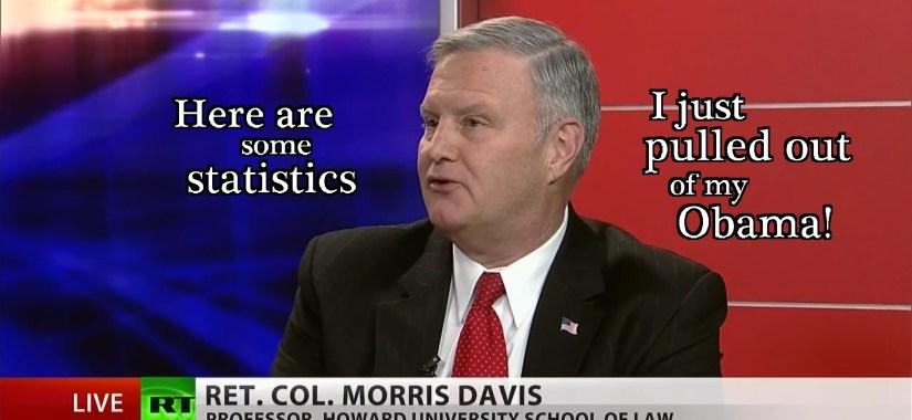 colonel morris davis-stats