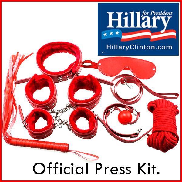 hillary press kit