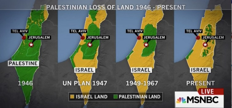 palestine israel land