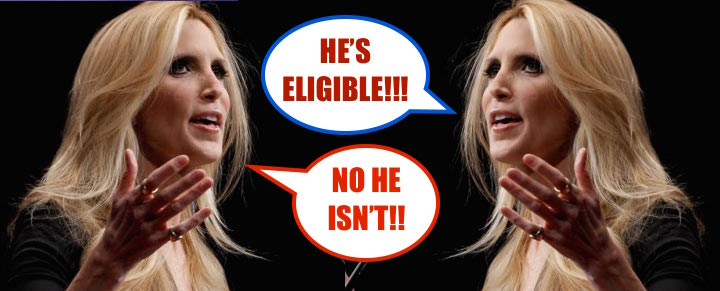 ann coulter against herself