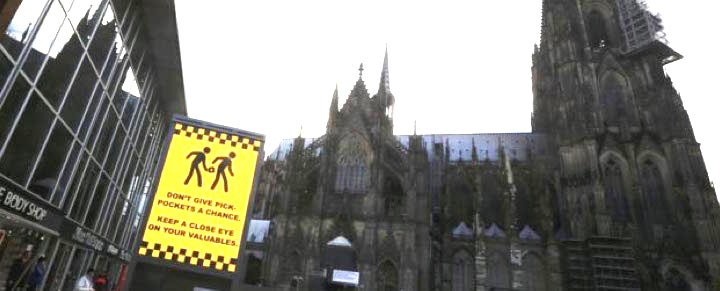 cologne cathedral pick pockets