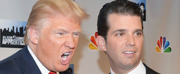 trump jr and dad