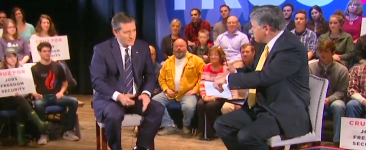 ted cruz with hannity