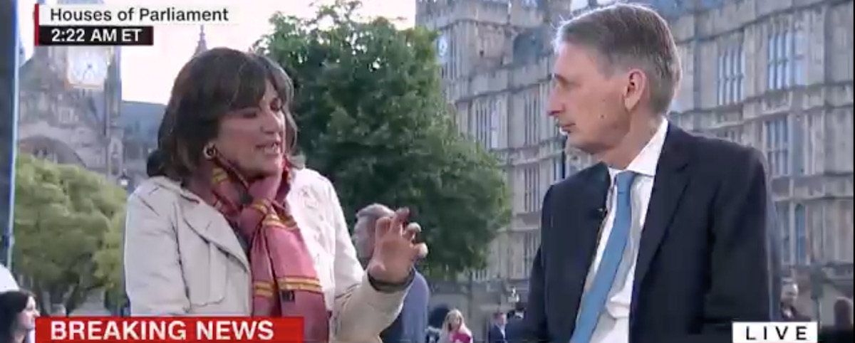 amanpour with uk secretary