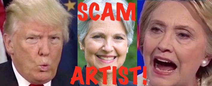 trump-jill-stein-hillary-scam-artist