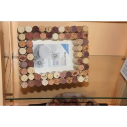 Teal Wine Cork Frames Wine Cork Frames So Paint Diy Frame Kits Diy Frames Pinterest