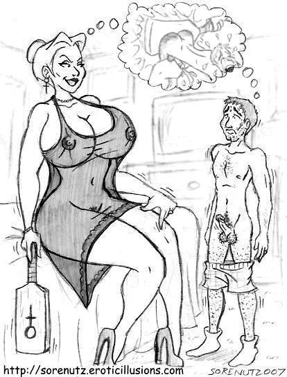 f m spanking art