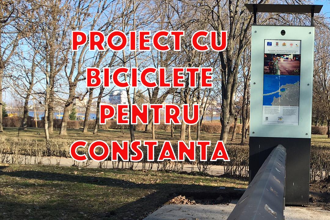Black Sea Bike, un proiect cu... biciclete de 1,5 milioane EUR in Constanta