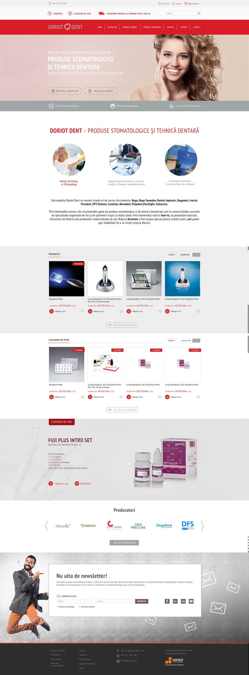 dental-shop-website-development