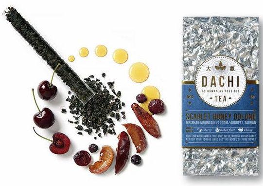 Scarlet Honey Oolong Tea from Dachi Tea