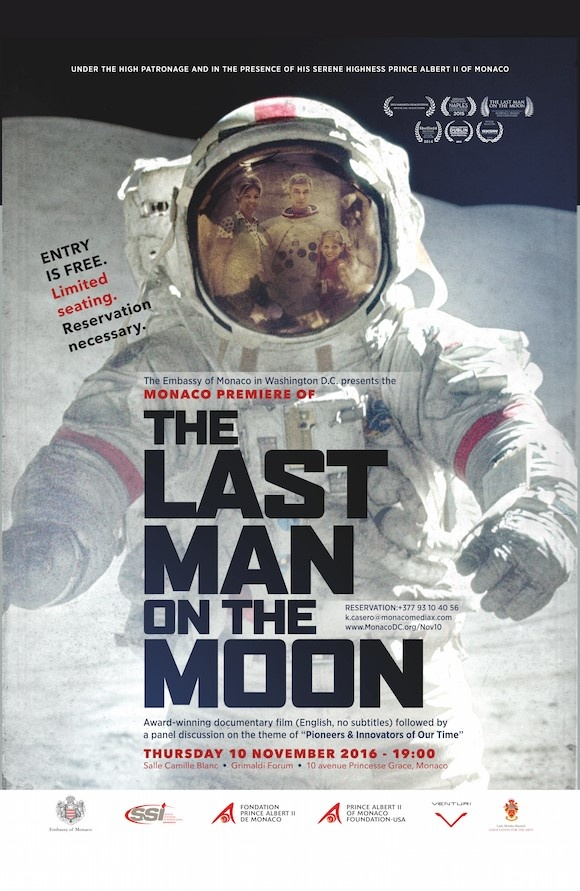 "MONACO - PROJECTION DU FILM ""THE LAST ON THE MOON"""