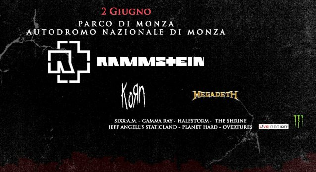 MEGADETH's DAVE MUSTAINE Takes You On Backstage Tour At Italy's GODS OF METAL Festival (Video)