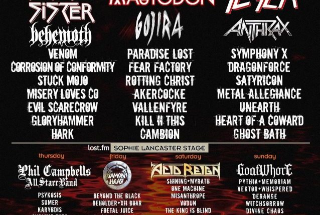 SLAYER/EXODUS Guitarist GARY HOLT Joins METAL ALLEGIANCE On Stage At U.K.'s BLOODSTOCK OPEN AIR (Video)