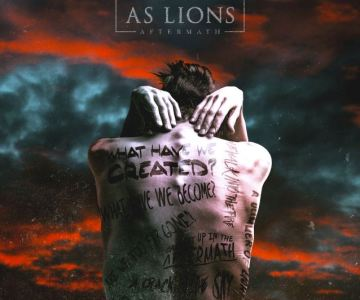 AS LIONS Feat. BRUCE DICKINSON's Son AUSTIN: Behind-The-Scenes Footage From Making Of 'Aftermath' Video