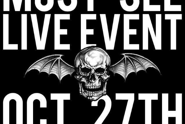 AVENGED SEVENFOLD Announces 'Groundbreaking Global Virtual Reality Event'