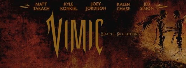 VIMIC Feat. Former SLIPKNOT Drummer JOEY JORDISON: Watch Two-Song Facebook Live Performance