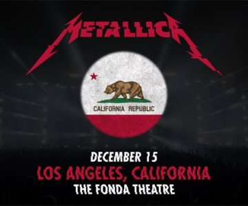 METALLICA To Play Intimate Show In Hollywood, California