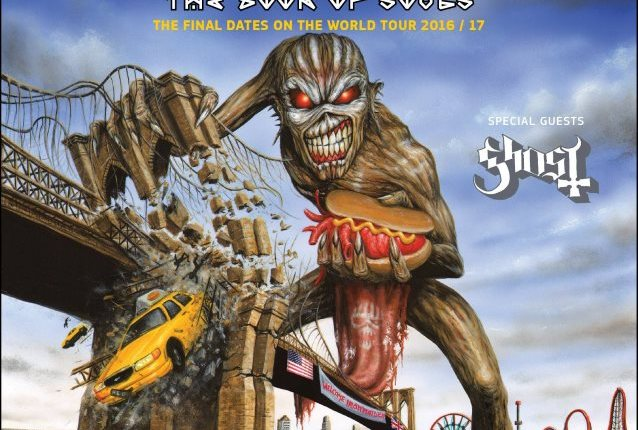 IRON MAIDEN Announces Last Show Of 'The Book Of Souls' Tour